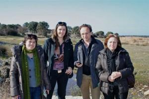 imagen de la visita a los Hervideros de Almeida.