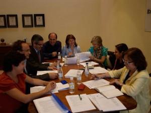 Imagen de los presentes en la Junta Directiva